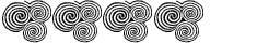 4 trippelspiraler